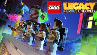 LEGO® Legacy: Heroes Unboxed (by Gameloft) - Ghostbusters Peter Venkman Gameplay