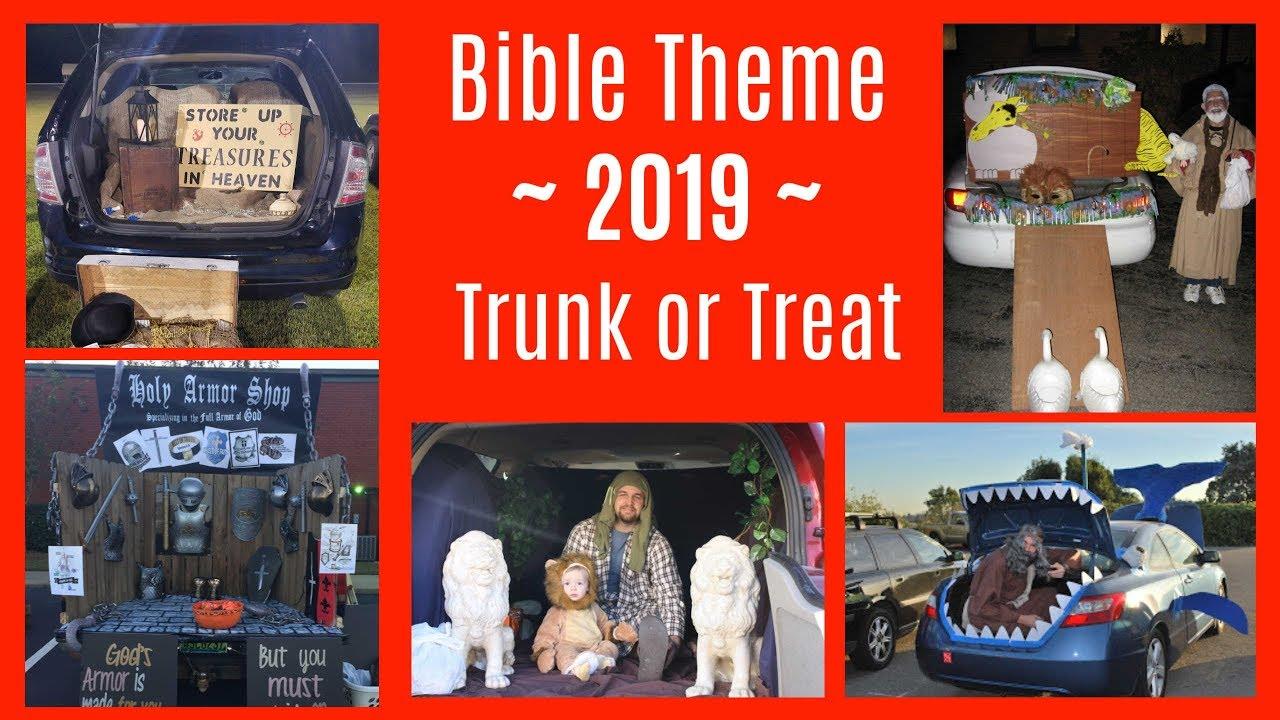 2019 Trunk Or Treat Car Decorating Ideas For Church