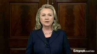 Hillary Clinton pays tribute to US ambassador killed in Benghazi Libya