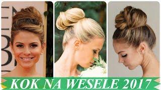 Najmodniejsze fryzury koki na wesele