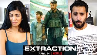EXTRACTION REACTION & REVIEW | Official Trailer | Netflix