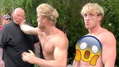KSI Reacts To Logan Paul Slap Knocking Man Out In Viral Video