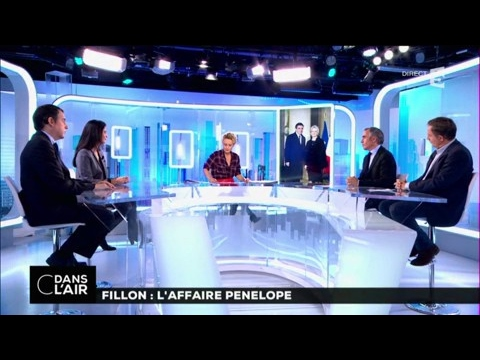 Fillon : l'affaire Penelope #cdanslair du 25-01-2017