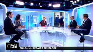 Fillon : l'affaire Penelope #cdanslair du 25-01-2017