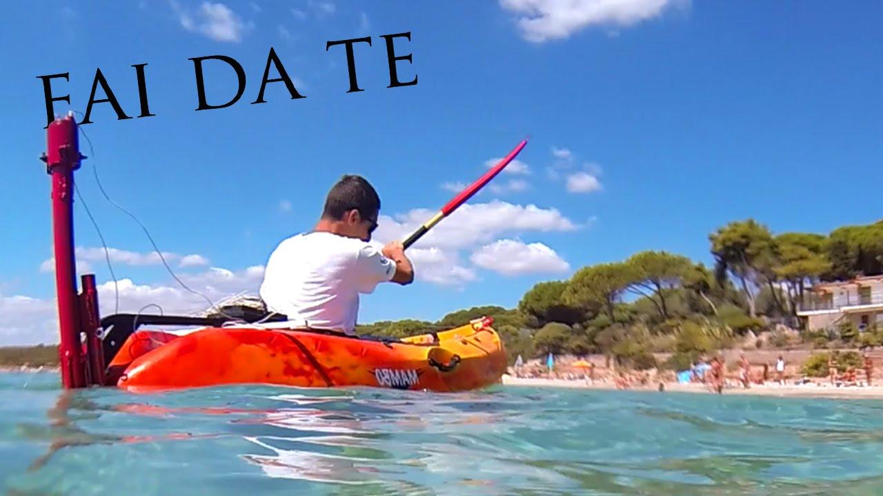 Motore per kayak fai da te youtube for Cestello per montacarichi fai da te