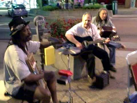 Street Musicians in Lawrence, Kansas