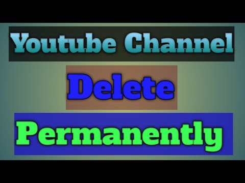 How To Delete Youtube Channel Permanently l In 1 Minute