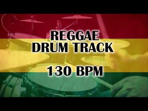 Reggae drum track - 130 BPM - Only drums