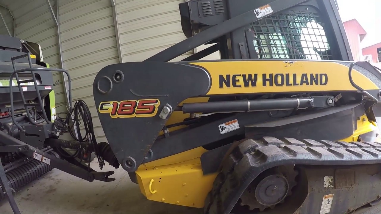 New holland c185 skid steer repairs an paint on