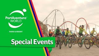 Vive la 1ª Fun Ride de la Fundació #PortAventura World🚴♀️🔛🎢