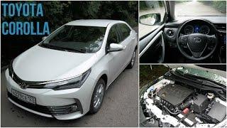 Toyota Corolla New - движение с комментариями