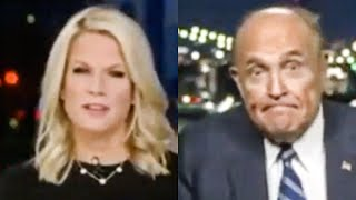 Fox Host Shocked As Rudy Giuliani Loses Mind During Interview
