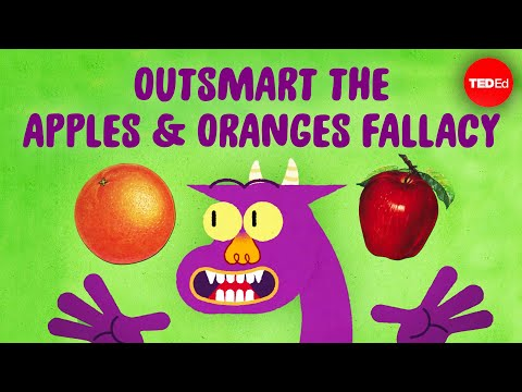 Video image: Can you outsmart the apples and oranges fallacy? - Elizabeth Cox