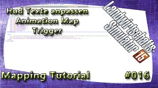 LS15 Giants Editor Map Tutorial #016 Hud Texte anpassen Animation Map Trigger