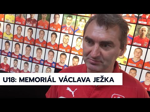 U18 | Trenér Jan Suchopárek před Turnajem Václava Ježka 2019