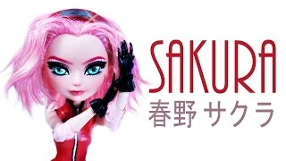 How to make a Sakura Haruno (春野 サクラ) Doll