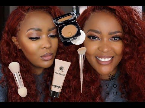 Avon PULLED THROOUGH !!!! | Avon Ultra Matte - Cream to Powder Foundation Review thumbnail