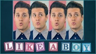 Like A Boy - Lyric Video - Nick Pitera (original)