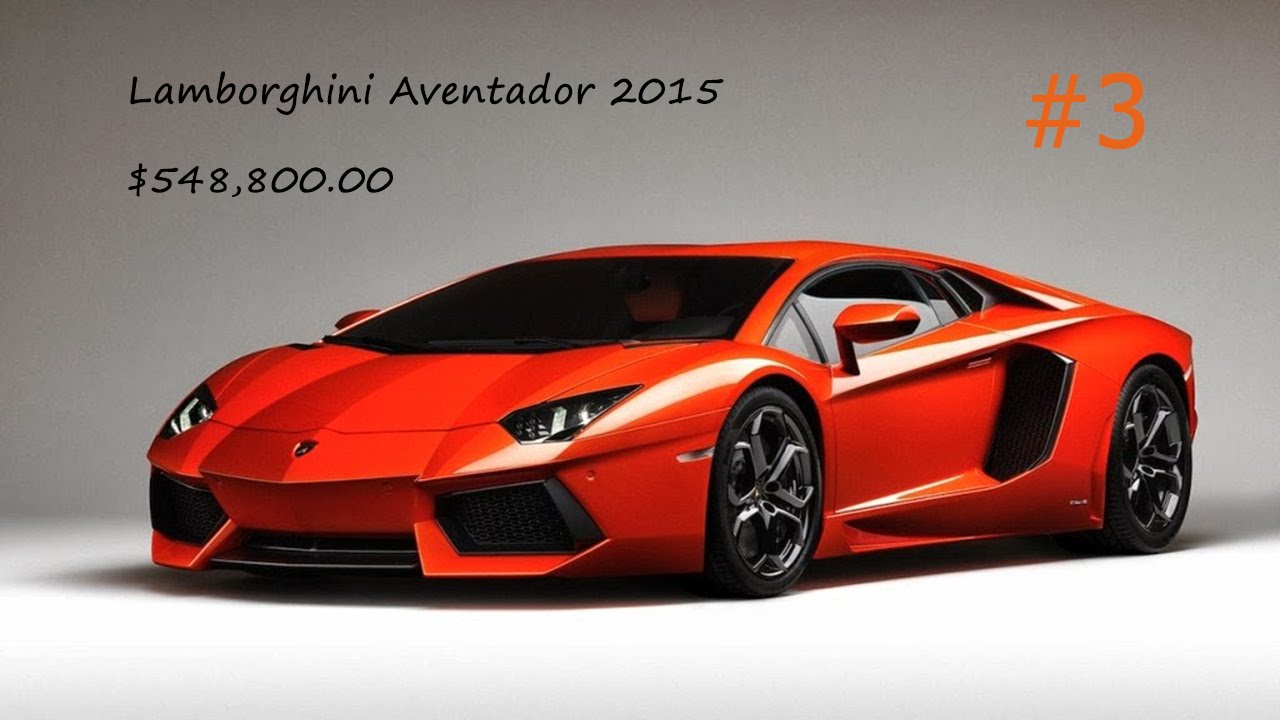 Top 10 Most Expensive Luxury Cars / {Cars}