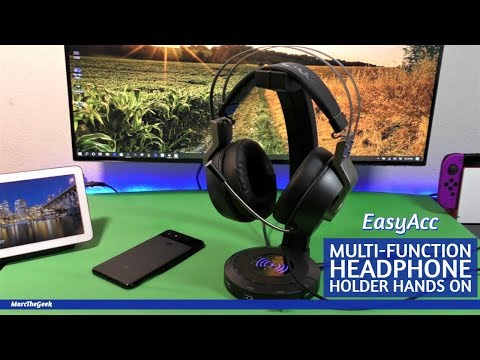 EasyAcc Multi-Function Headphone Holder Hands On