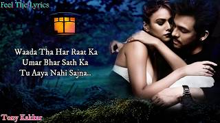 Waada Tha Har Raat ka (Lyrics)Song | Tony kakkar | Love Song |  Feel The Lyrics