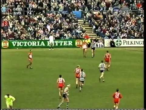 Tony Lockett at his best - Round 18, 1998 at Kardinia Park