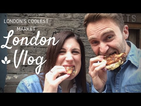 London Vlog | London's Coolest Market!!!