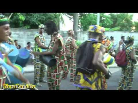 New Land tv vous PRESENTE le Carnaval de la Guadeloupe 2013 2 part
