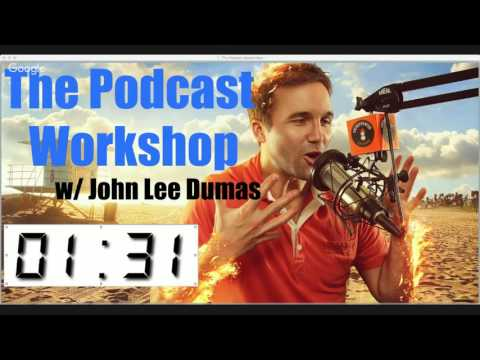 LIVE Podcast Masterclass with John Lee Dumas!