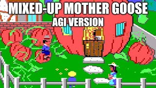 Mixed-Up Mother Goose playthrough (AGI version)