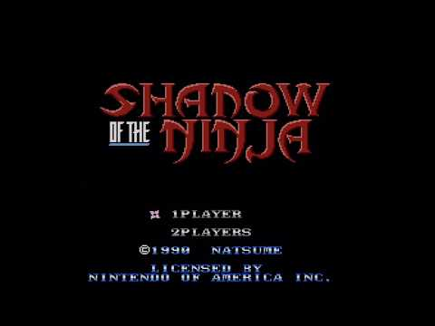 Shadow of the Ninja :: NES Gameplay (Real Hardware / RGB / 1080p / 60fps) - VIDEO GAME B-ROLL