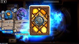 Scaleworm - The Witchwood Hearthstone rare card pack opening