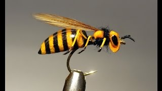 perennially floating foam body realistic waspfly very simple