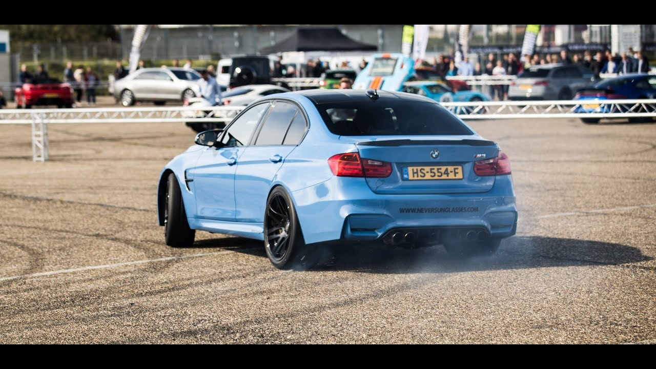 Modified BMW M3 F80 with STRAIGHT PIPES - Drifting, Accelerations, Revs!