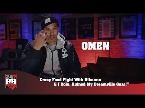 Omen - Crazy Food Fight With Rihanna & J Cole, Ruined My Dreamville Gear! (247HH Exclusive)