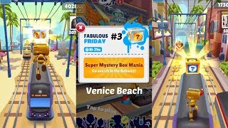 """Subway Surfers: Venice Beach (Fabulous """"Friday"""" Super Mystery Boxes!) Gameplay #3 On IOS"""