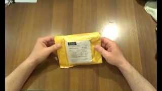 Посылка из китая №1  Лезвия для бритвы