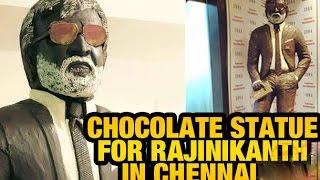 Rajini's Kabaali Chocolate Statue!...