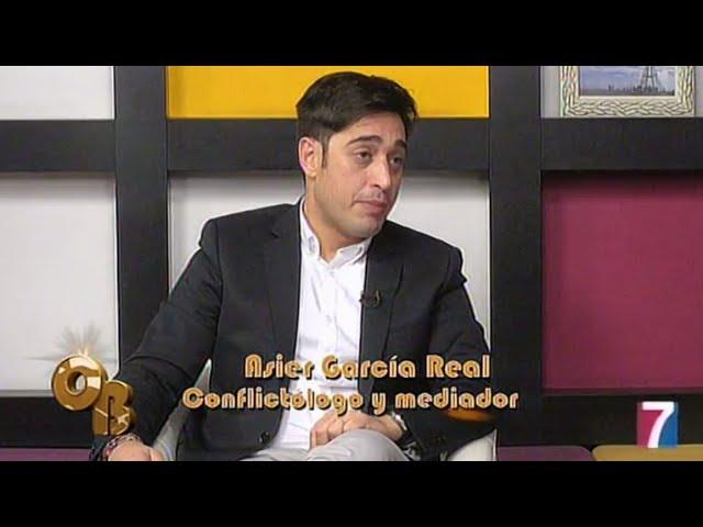 Asier García Real, experto en mediación, habla de los diversos conflictos en el ámbito familiar