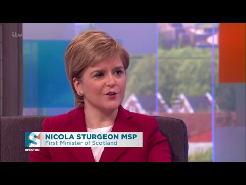 Nicola Sturgeon Full Interview - Peston on Sunday