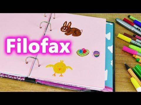 Filofax Ideen für OSTERN | 3 süße Bilder malen OSTERHASE EIER NEST und KÜKEN | DIY im Kalender