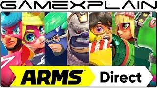 ARMS Direct & New Splatoon 2 Trailer Coming Tomorrow!
