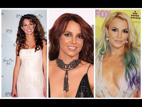 Britney Spears' Beauty Evolution