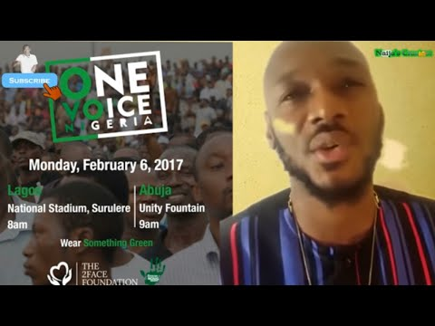 Video(comedy): Naijas Craziest - Why Tuface Cancelled One Voice Protest