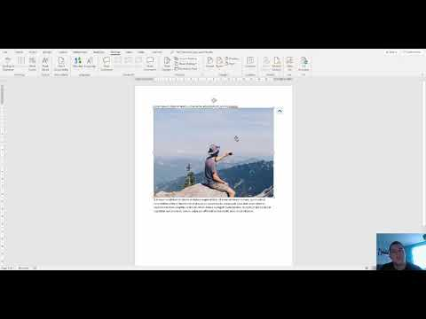 How to move a picture on Microsoft Word