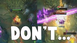 Why You Don't Disrespect Opponent in League of Legends - Rush Tutorial | Funny LoL Series #479