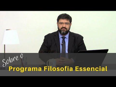 Sobre O Programa Filosofia Essencial