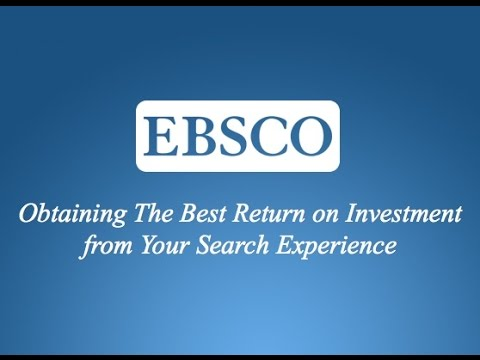 Obtaining The Best Return on Investment from Your Search Experience