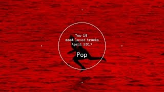 Top 10 Most Loved Pop Tracks - April 2017