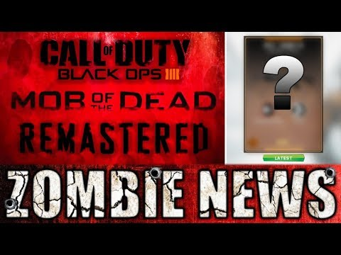 Mob Of The Dead Remastered: Black Ops 4 Intel! Free Infinite Warfare Weapon! WW2 DLC1 Intro / Outro!